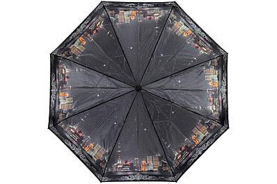 Жіноча парасолька Три Слона ( напівавтомат ) арт. L3882-03