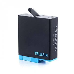 Аккумулятор Telesin для GoPro Hero 7/ Hero 6 /Hero 5 на 1220 mAh