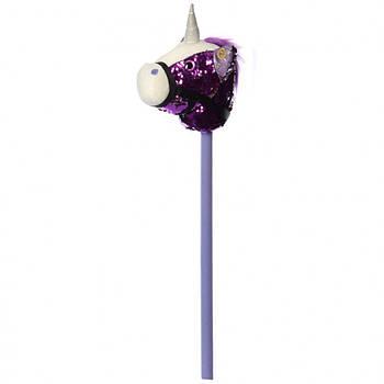 Конячка на палиці Bambi MP 2138, 75 см фіолетовий