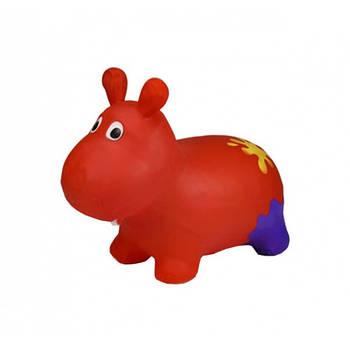 Дитячий стрибун Бегемот Bambi G20153 червоний