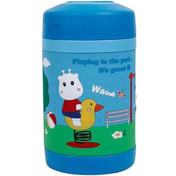 Термос пищевой детский Pinkah TMY-3343 450 мл Синий
