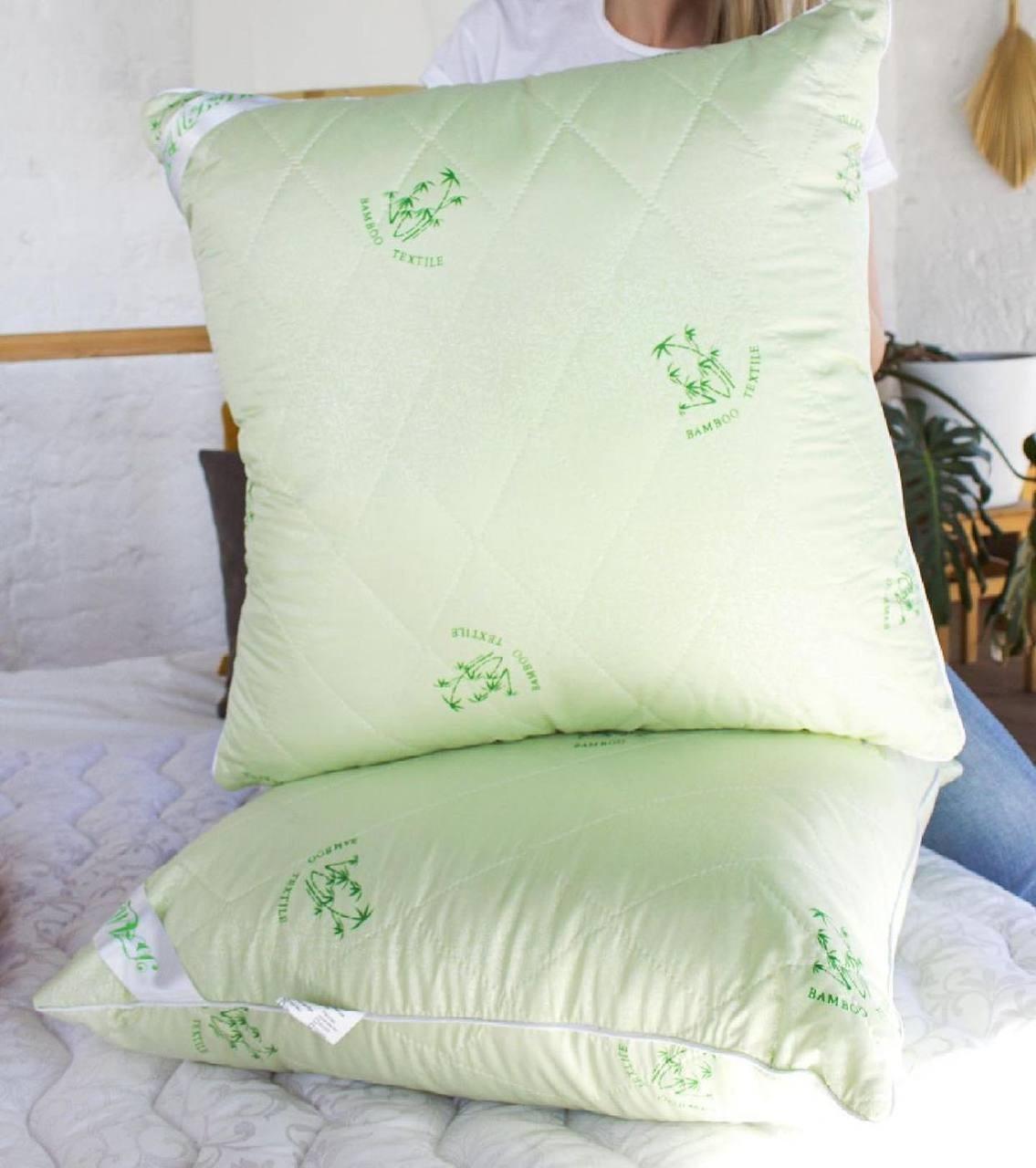 Подушка з додаванням волокон бамбука 50*70