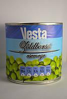 Горошек зеленый консервированный Vesta, 420гр, Венгрия