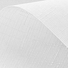 Рулонні штори Len. Тканинні ролети Льон Білий 0800, 47.5