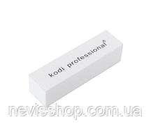 Професійний бафик-брусок для нігтів Kodi Professional 120/120
