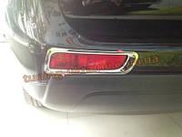 Хром на задние габариты Mitsubishi Outlander 2014+