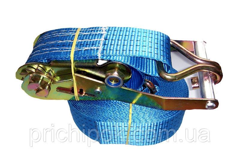 Ремень стяжной для крепления груза 4 м, 3 т