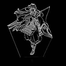 Акриловий світильник-нічник Шева-кун білий tty-n000951