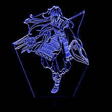 Акриловий світильник-нічник Шева-кун синій tty-n000947