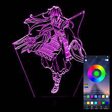 Акриловий світильник-нічник керування з телефона Шева-кун tty-n000953