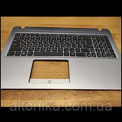 Клавиатура с Топ-кейсом для ноутбука Asus R540 R540SA X540 X540UB X540BA (ORIGINAL) Grey