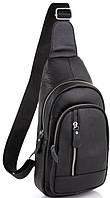 Мужской кожаный слинг на одно плечо Tiding Bag A25-6896C