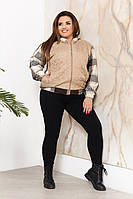 """Куртка жіноча Розміри: 52-54,56-58 """"VISHER"""" недорого від прямого постачальника idm907752"""