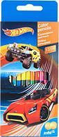 Карандаши цветные двухсторонние KITE Hot Wheels HW16-054K-0115 (12 шт/24 цвета)
