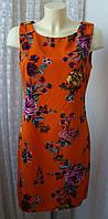 Платье женское яркое летнее легкое мини бренд Kate Thomas р.46 5101а