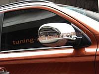 Хромированные накладки на зеркала Mitsubishi Outlander 2014+