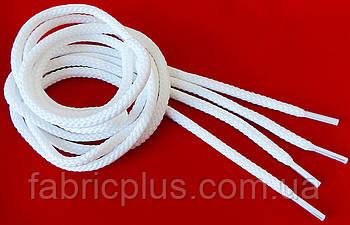 Шнурки  толстые  белые  1,0м