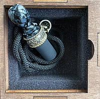 Індивідуальний персональний мундштук CVP для кальяну Pirate Grey-Black
