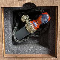 Індивідуальний персональний мундштук CVP Design для кальяну Celtic Red-Silver