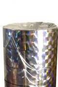 Скотч 12мм*20 м лазер серебро