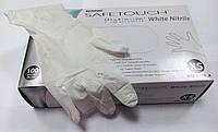 Перчатки нитриловые SafeTouch® Slim PLATINUM WHITE, фото 1