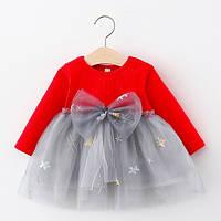 Платье Stars красное 4752