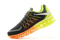 Кроссовки мужские Nike Air Max 2015 grey-orange-yellow