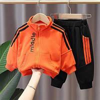 Спортивный костюм Middle оранж 1452