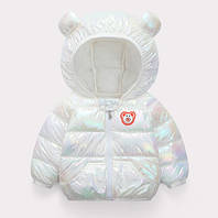 Демисезонная курточка Bear белая 1464