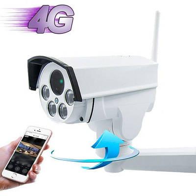 4G камера видеонаблюдения под SIM карту Boavision NC947G-EU, поворотная PTZ, 2 Мегапикселя, 5Х зум