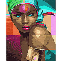 Картина за номерами Фарби Африки, 40х50 см(VA-0708)