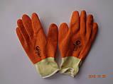 Перчатки х/б с оранжевым латексным покрытием Garden Tool (упаковка 12 пар), фото 2
