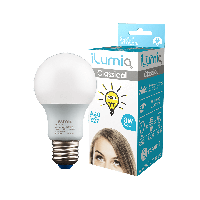 LED лампа Ilumia 8W Е27 A60 4000К нейтральний 800Lm (009)