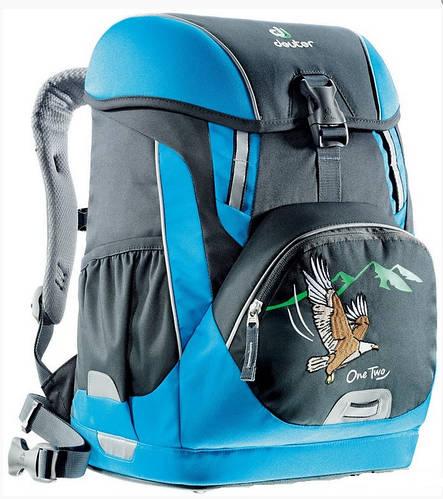 Прочный школьный рюкзак для мальчика DEUTER OneTwo 3830015 4032 черный