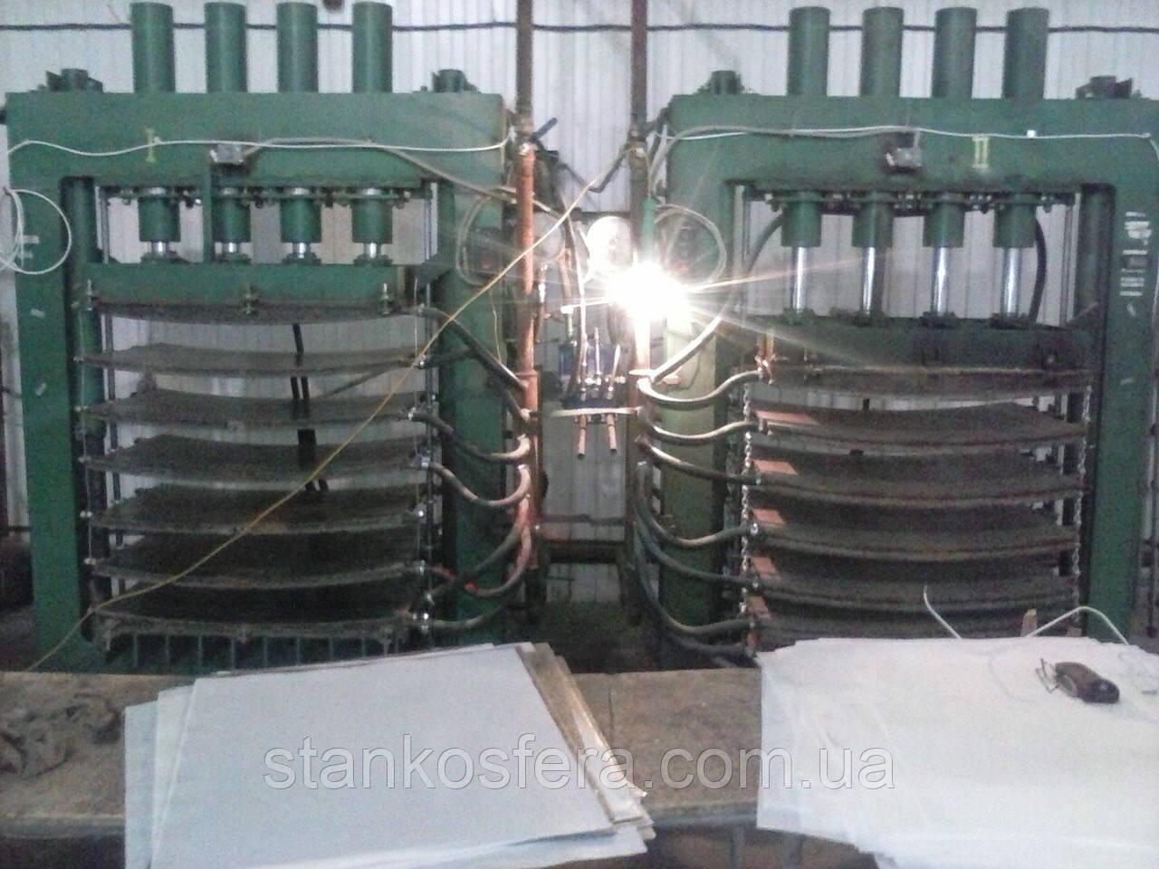 Линия производства ламели: комплект станков б/у