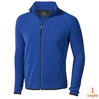 Мужская флисовая куртка-толстовка синего цвета на молнии Elevate Brossard, купить недорого