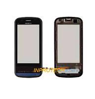 Сенсор (тачскрин) Nokia C6-00 с рамкой Black Original