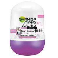 Дезодорант GARNIER Mineral Нежность Хлопка защита 5 шариковый для тела 50 мл