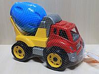 Детская машинка Автомиксер, бетономешалка стройтехника тм Технок