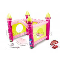Замок маленькой Принцессы с аксессуарами (насос в комплекте) Play WOW (3160PW)