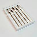 Голки швейні ORGAN (Японія) LEDER LEATHER CUIR №90-100, для побутових швейних машин, фото 2