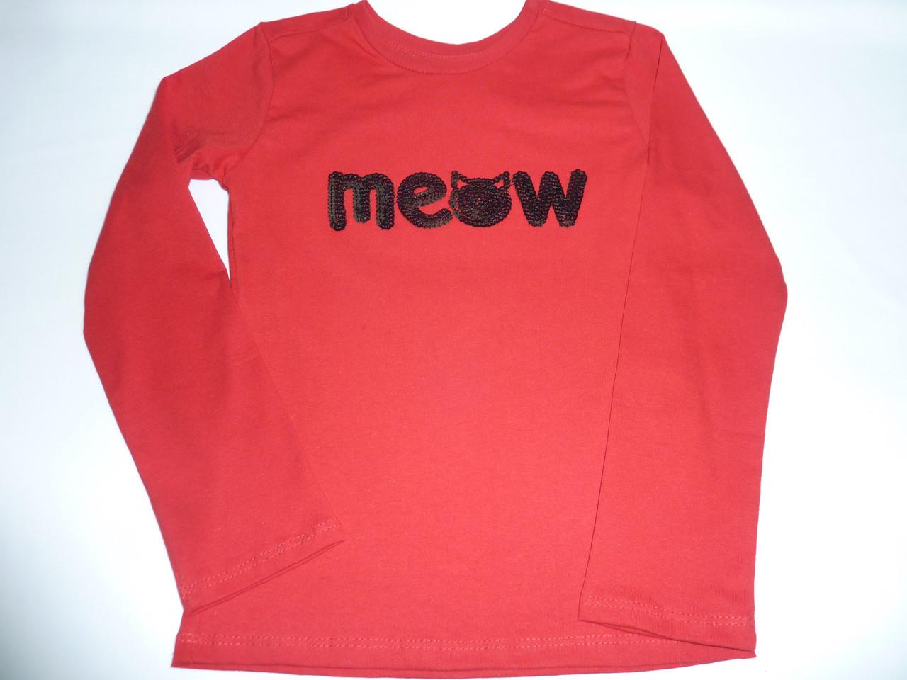 Детская футболка Meow