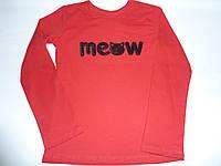 Детская футболка Meow, фото 1