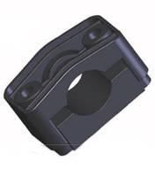 Кабельные зажимы для фиксации кабеля KO-40 (крепление метизами к металлоконструкциям)