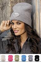 Красивая молодежная шапка со стразами от Kamea - DIAMOND.