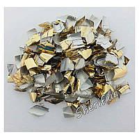 Конфетти 'Метафан' (золото и серебро), 1 кг