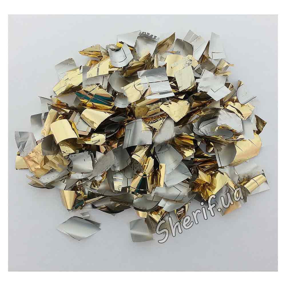 Конфетти 'Метафан' (золото и серебро), 1 кг - Военторг Шериф в Днепре