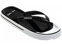 Мужские вьетнамки BECO чёрный 90614 0