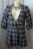 Жакет женский пальто легкое нарядное бренд Cloady р.46-48 5098