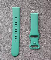 Ремешок силиконовый Sport для смарт-часов Huawei Watch 2   GT2 42mm   Honor MagicWatch 2 42mm, зеленый (20мм), фото 1